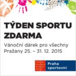 Týden sportu zdarma 2015