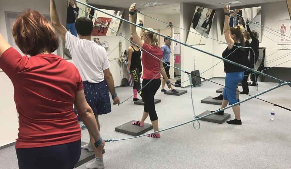 skupinové cvičení SPS (SM Systém)