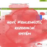 Nový rezervační systém
